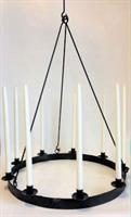 Takstake smijern 9 lys diameter 57cm