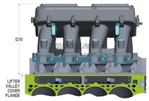 PLENUM TOP, LT1 HI-RAM 2 X 4500, 2.25 BO