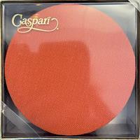 Caspari glassbrikke 8stk, Canvas orange