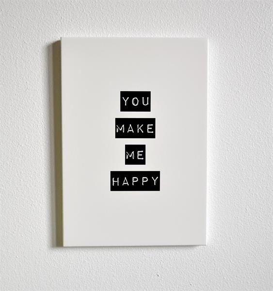 You make me happy, A4