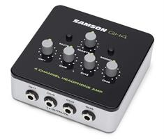 Samson QH4   4-channel stereo headphone amplifier