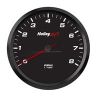 4-1/2 TACHOMETER, 0-8K RPM, CAN, BLACK