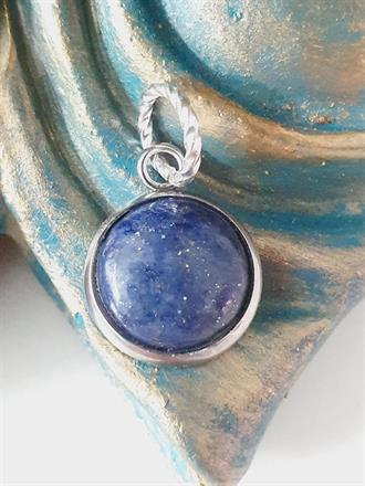 Hänge halsband  blå Lapis Lazuli -Kombinera flera armband -NYHET