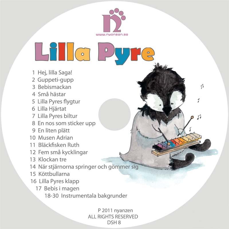 Lilla Pyre CD/Digital musik