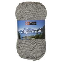 Viking Superwash ljusgrå
