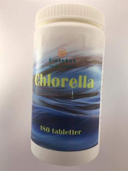 Chlorella 400 mg  180 tabl
