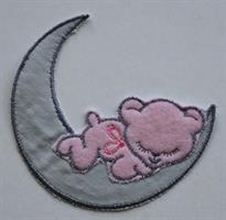 Måne, rosa