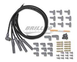 Wire Set, Black 4Cyl M/A Plug, Sockt/HEI