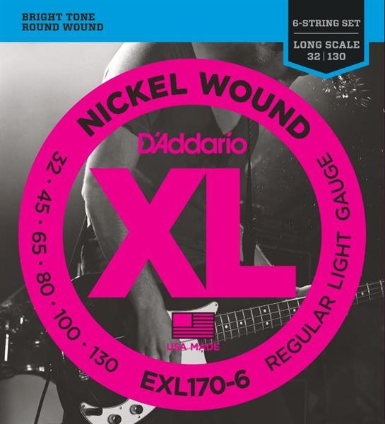D'Adario EXL 170 - 6str. 032 - 130