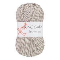 Viking Sportsragg gråvit