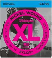 D'Adario EXL 120 + el.gitar strenger