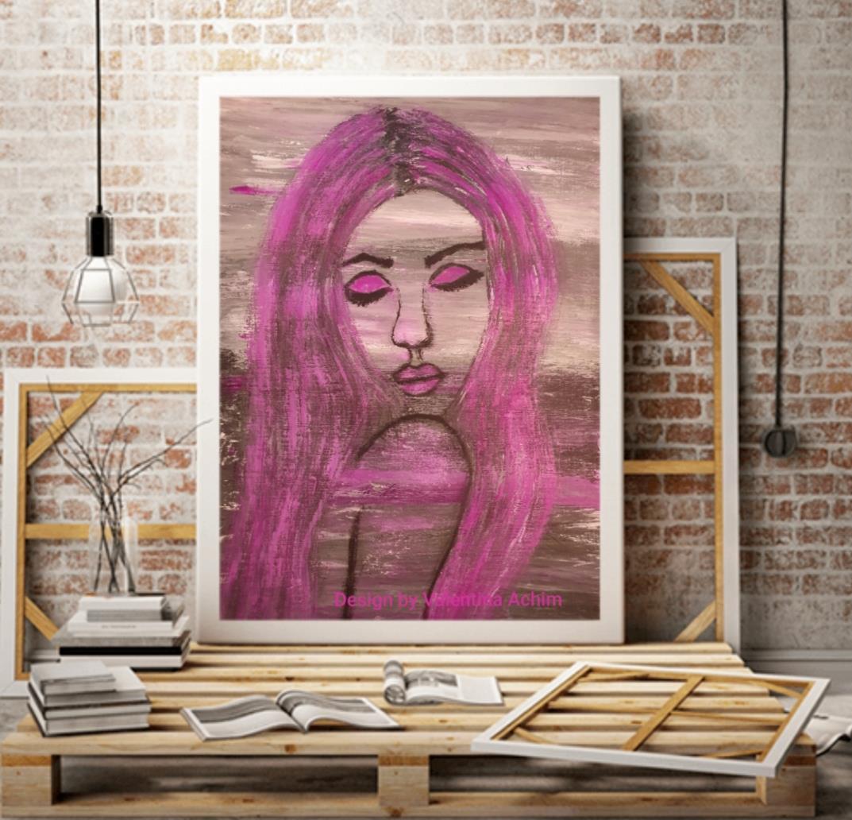 Fotoposters  30x40 cm, rosa