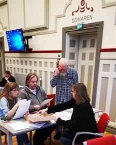 Arkivkurs i Mellerud för hembygdsföreningar