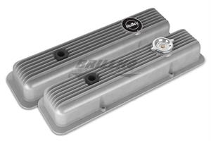 SBC MUSCLE SERIES VALVE COVERS,FINNED,NA