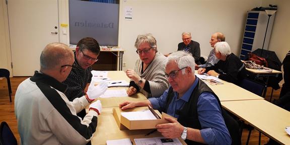 Arkivkurs i Borås för Hembygdsföreningar