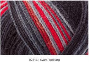 Black is back Black/Red color 4-tr