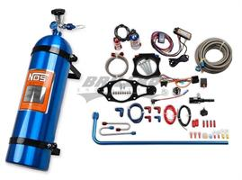 C7 CORVETTE N2O KIT,15LB,BLUE/RED