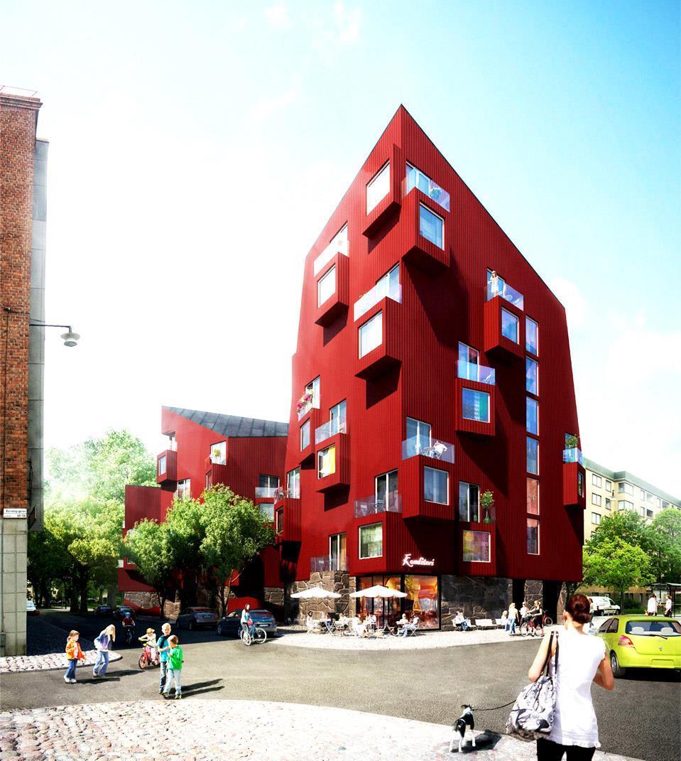 Falu Rödfärg i storstan