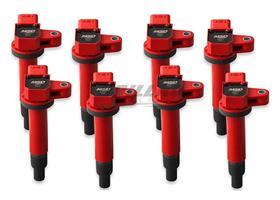 Coil, 98-10 Toy/Lex 4.7L V8, 8Pk, Red