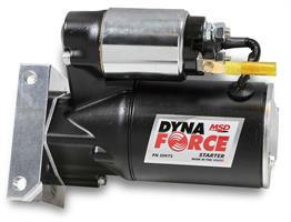 Blk DynaForce Starter, Pontiac 326, 455