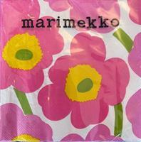 Marimekko unikko lunsj 20stk,  light pink