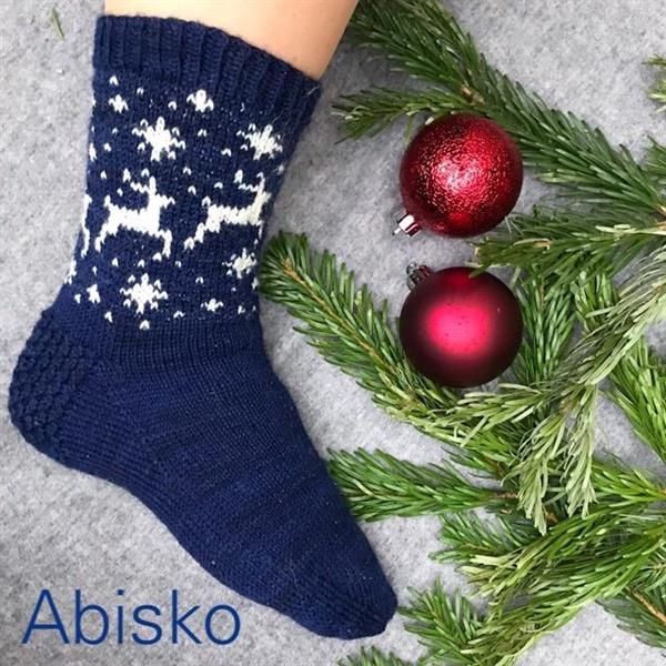Garn - Abisko julsocka 2018