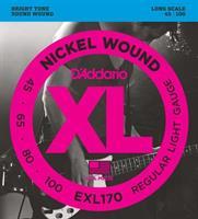 D'Adario EXL190 Bass strenger 40-100