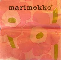 Marimekko unikko lunsj 20stk, pink
