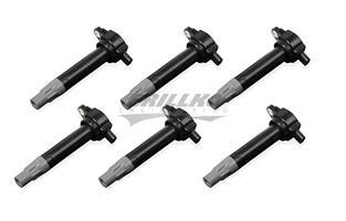 Coils, Black, Chrysler V6 '06-'10, 6-Pk.