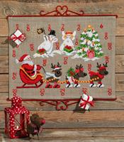 Julkalender Renar & Snögubbar