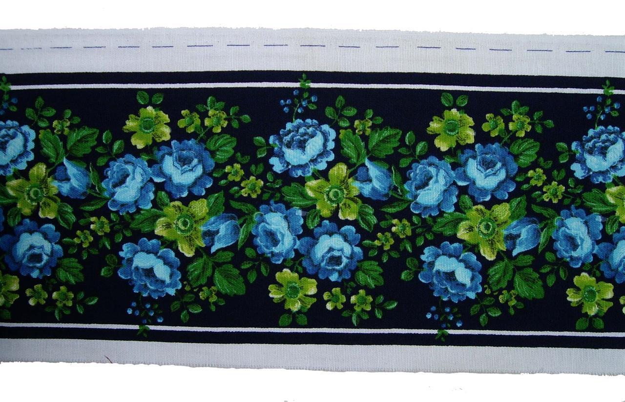 Rosenträdgård, blå