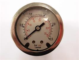 Manometer 0-2,5 Bar