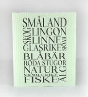 Disktrasa, Småland, grön/svart text