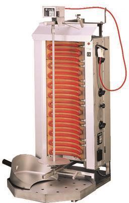 Kebab grill gasol