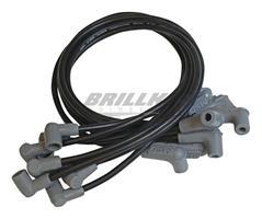 Wire Set, Black, SB Chevy, Socket Cap