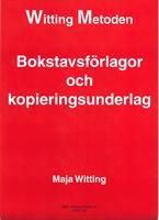 Bokstavsförlagor och kopieringsunderlag