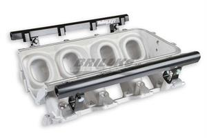 BASE IM & FUEL RAILS, LS1 LO-RAM, SATIN