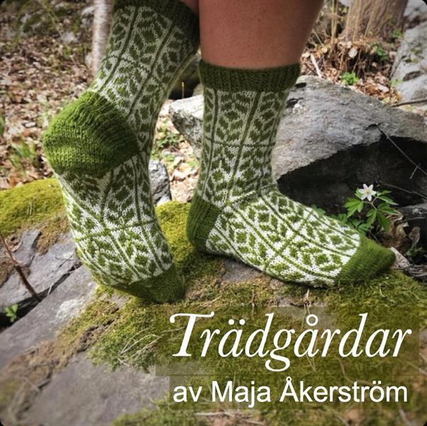 """""""Trädgårdar"""" Mossgrön Sockpaket"""