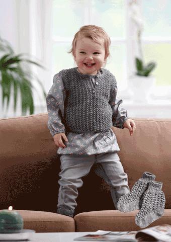 Klicka på bilden du kommer till garnet Baby sock