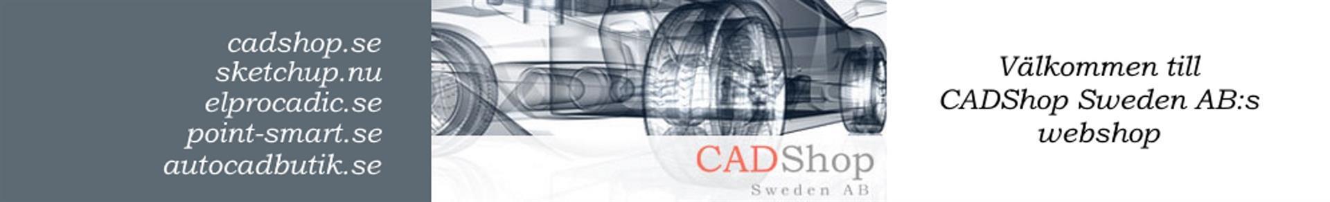Välkommen till CADShops webshop med låga priser och snabb leverans