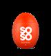 Salt Soso Chili Power 100 gr-12 st ,rött ljus
