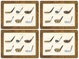 History of golf spisebrikker 4stk