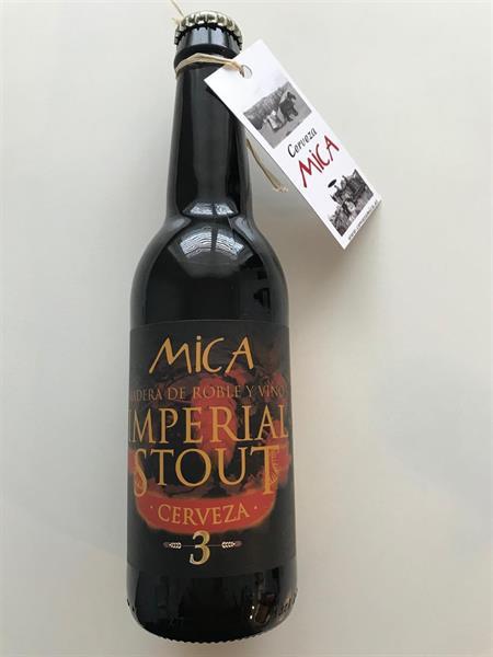 Öl Mica Imperial Stout 33 cl,10%, 24 st