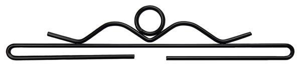 Beslag/hängare Svart 25 - 55 cm