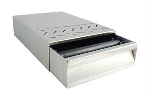 Knock box låda Rostfritt B/D/H 250 x 375 x 85 mm.