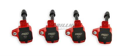 Coil,15-18HondaCivic/2.0T,Fit/1.5 4PKRed