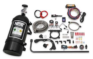 BLACK FORD MUSTANG COYOTE KIT W/BOTTLE