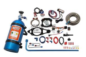 C7 CORVETTE N2O KIT,10LB,BLUE/RED