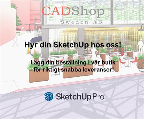 Nu finns SketchUp 2021 i butiken!