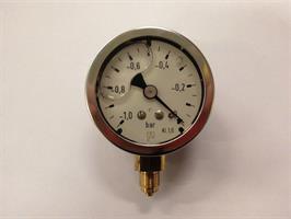 Vacumeter -1/0 bar RF50 1/8